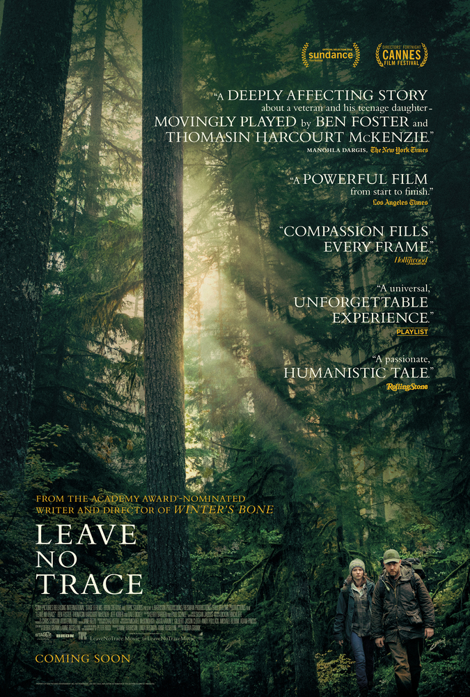 Jul 2018: Leave No Trace