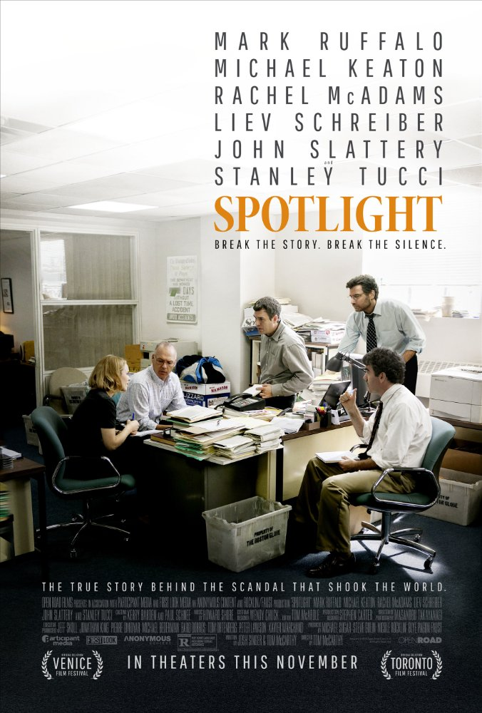 Dec 2015: Spotlight